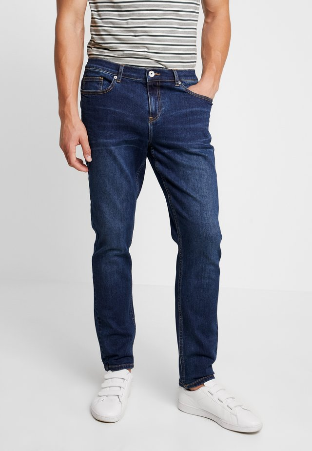 DAUBENEY STRETCH - Jeans straight leg - mid denim