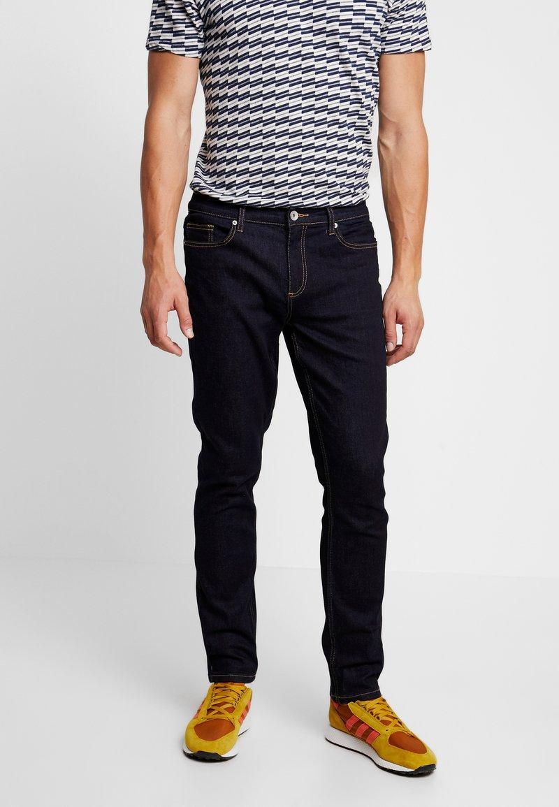 Farah - DAUBENEY STRETCH - Straight leg jeans - blue denim
