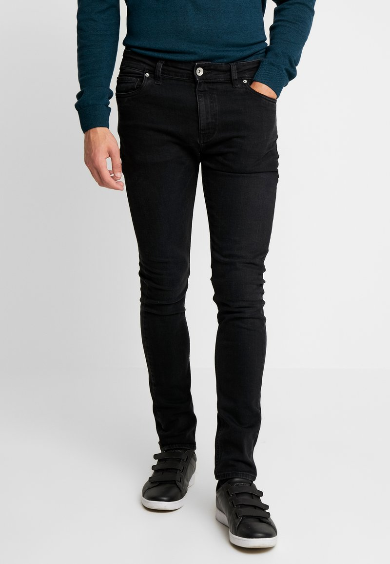 Farah - DRAKE DENIM - Slim fit jeans - black