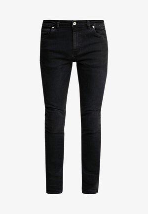 DRAKE DENIM - Slim fit -farkut - black