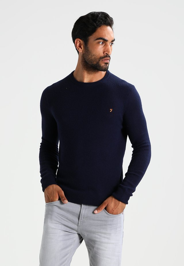 THE ROSECROFT CREW NECK  - Sweter - true navy