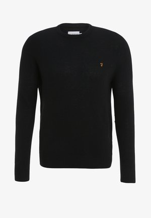THE ROSECROFT CREW NECK  - Svetr - black