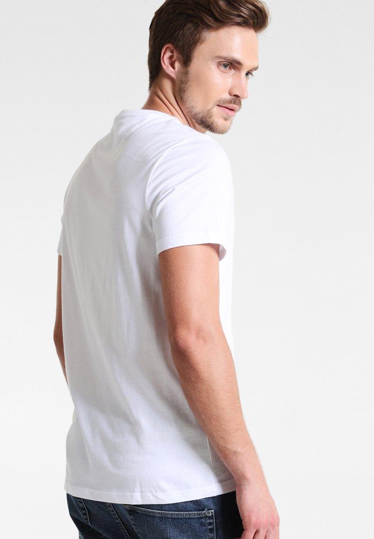 Basique Farah Slim White Denny FitT shirt Yb6m7vyfgI