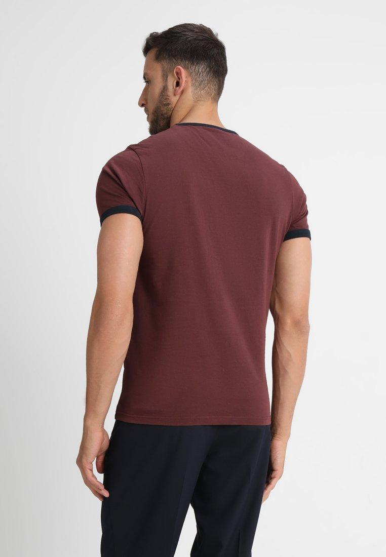 Farah Groves - T-shirt Basic Bordeaux YXtbtn7