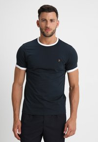 Farah - GROVES - T-shirt basic - true navy - 0