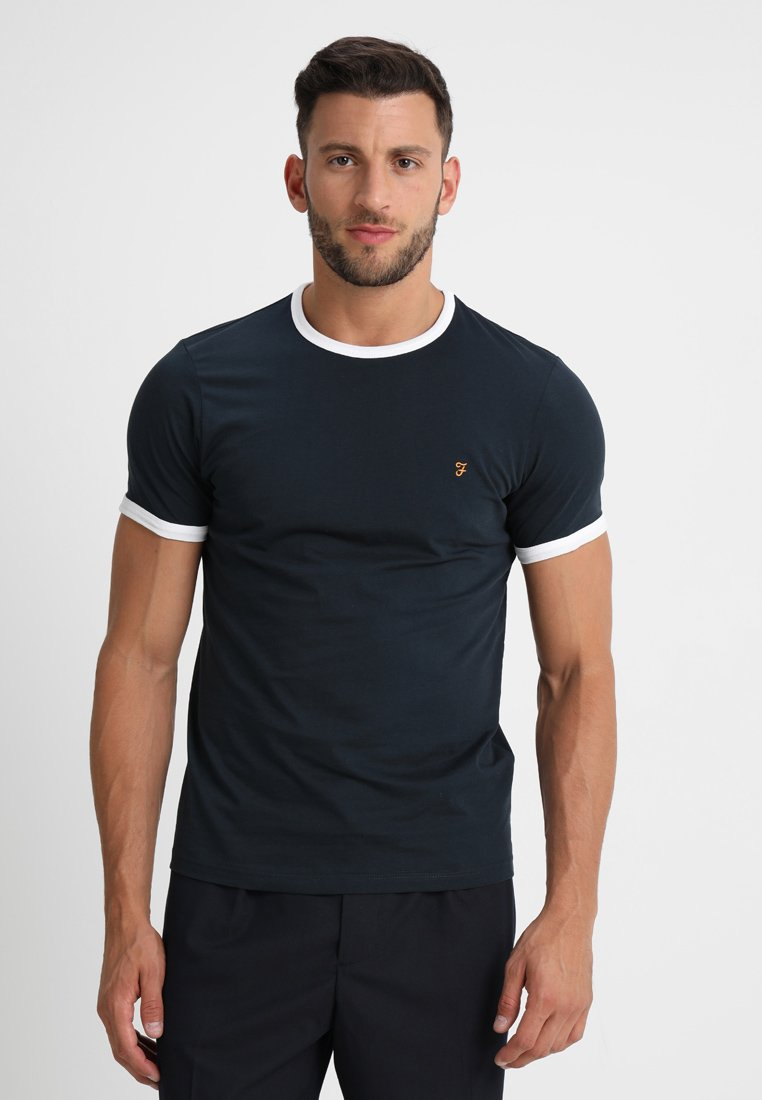 Farah - GROVES - T-shirt basic - true navy