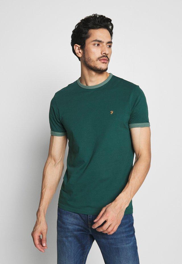 GROVES RINGER TEE - T-shirt basic - bright emerald