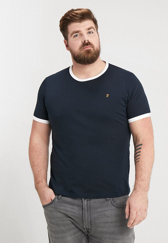 GROVES RINGER TEE - T-shirt - bas - true navy