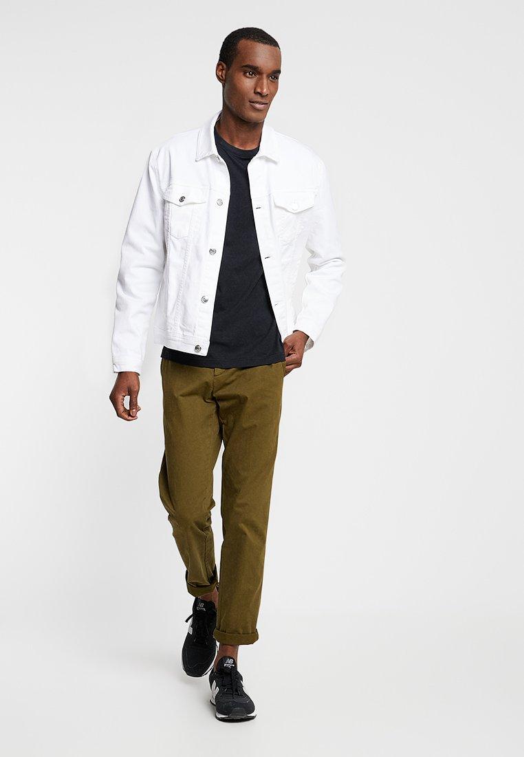 Farah - FARRIS TWIN 2 PACK - Basic T-shirt - white/black