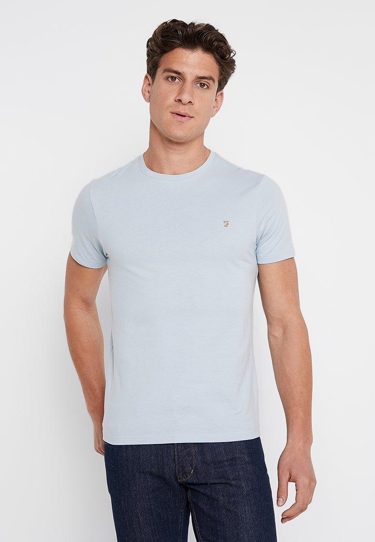 Farah - DENNY SLIM - T-shirts basic - morning sky