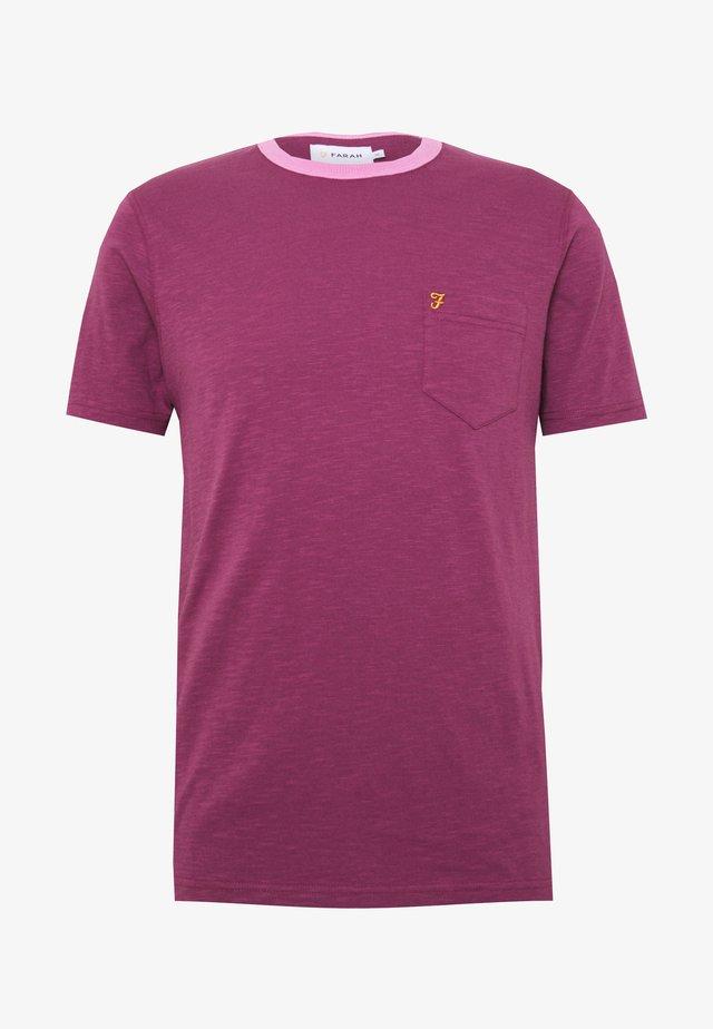 GROOVE TEE - T-Shirt basic - hippie purple