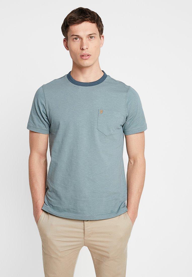 Farah - GROOVE TEE - Basic T-shirt - clay