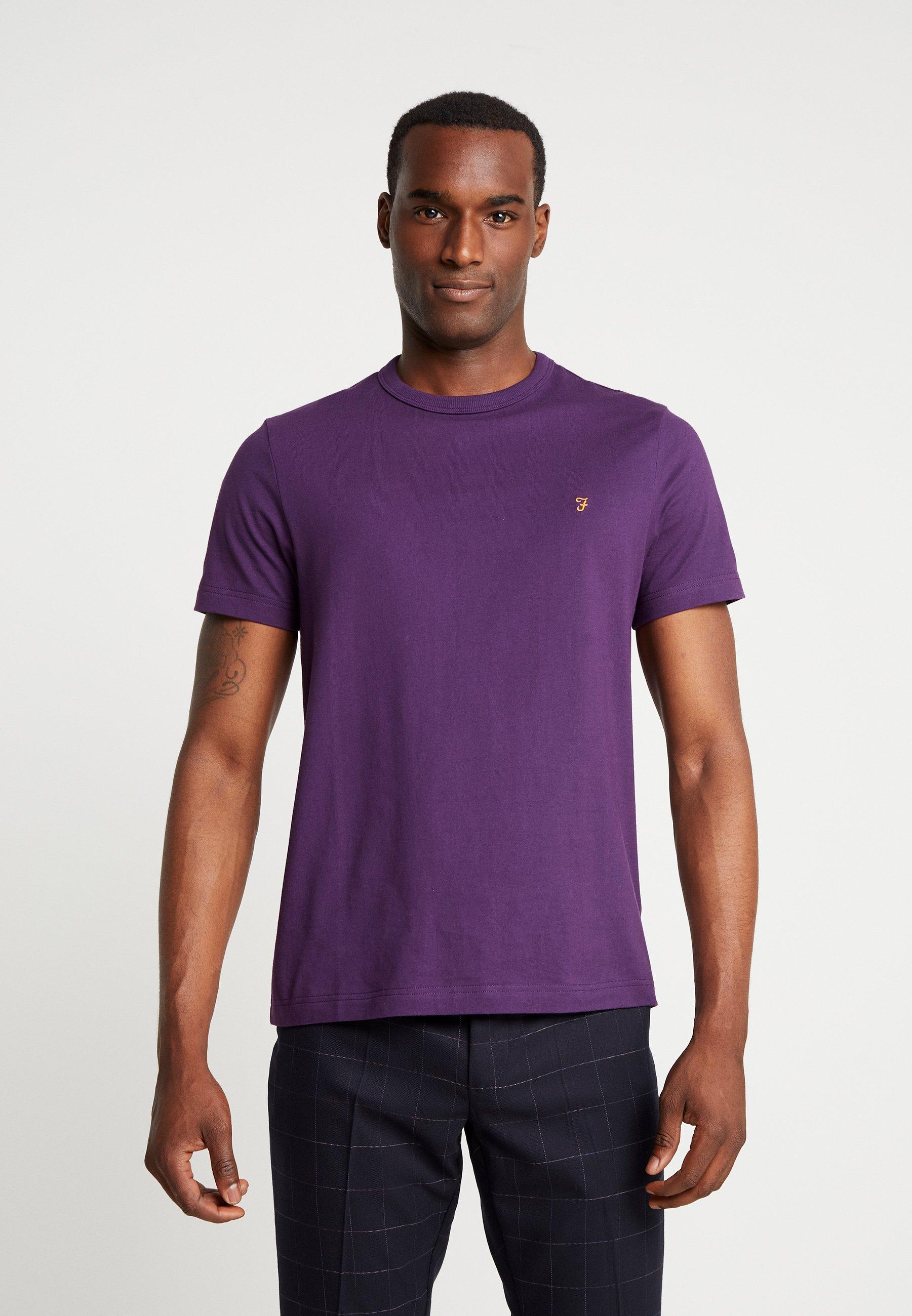 shirt Farah Basique Purple DennisT Bright m0nvN8w