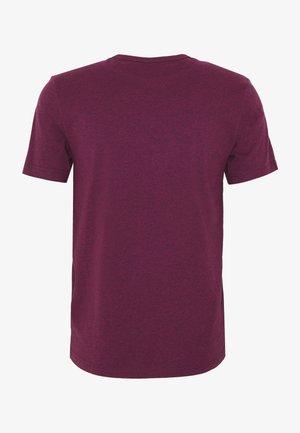 DENNIS SOLID TEE - Basic T-shirt - purple marl