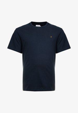 DENNIS SOLID TEE - T-shirt - bas - true navy