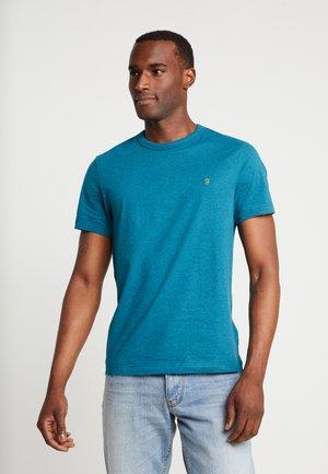 DENNIS SOLID TEE - Basic T-shirt - bright aqua marlange