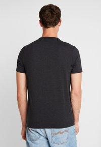 Farah - DENNIS SOLID TEE - T-shirt basic - black marl - 2