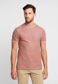 Farah - POTTER TEE - T-shirt basique - dark mauve - 0