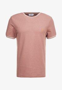 Farah - POTTER TEE - T-shirt basique - dark mauve - 4