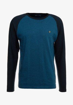 REDINGTON RAGLAN TEE - Bluzka z długim rękawem - teal