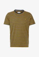 REETH STRIPE TEE - Print T-shirt - true navy marl