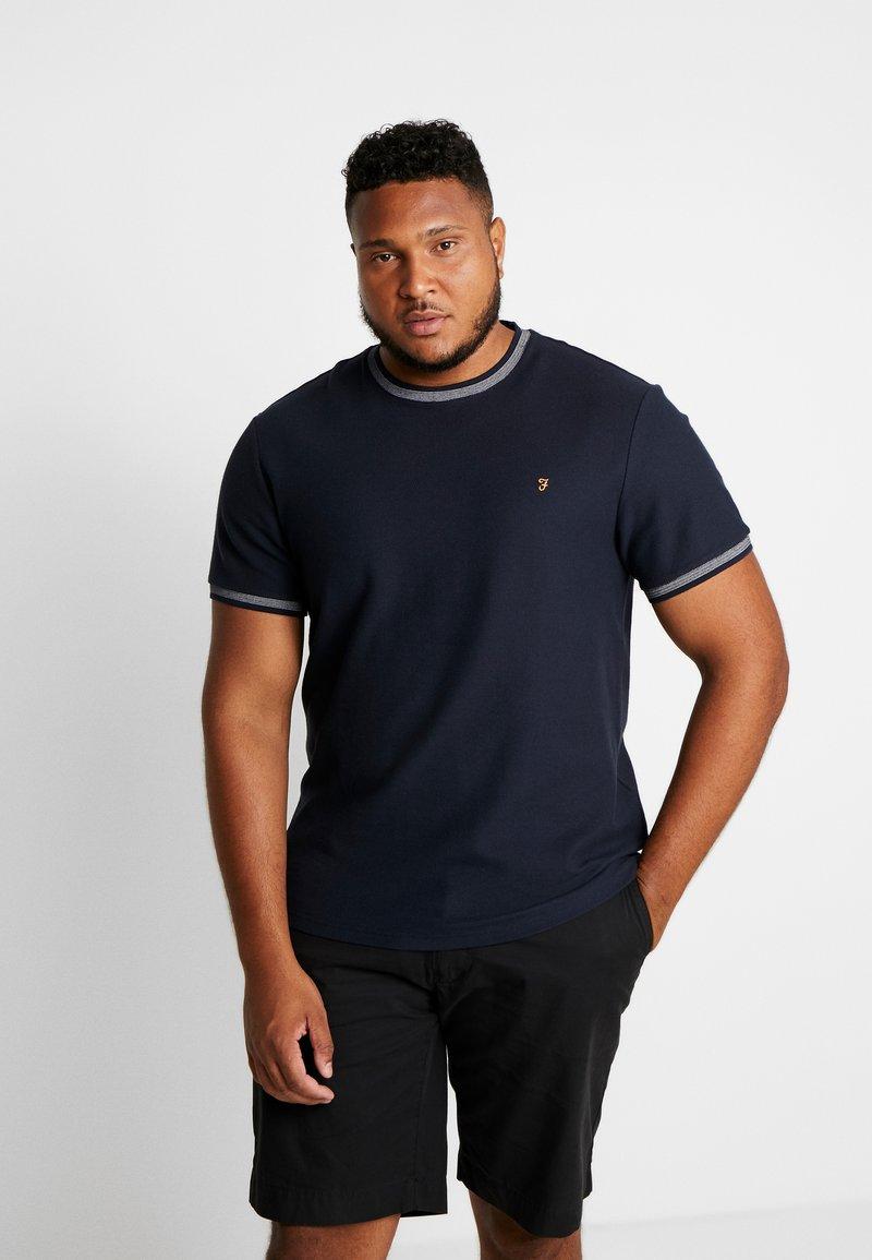 Farah - PLUS POTTER TEE - Print T-shirt - true navy