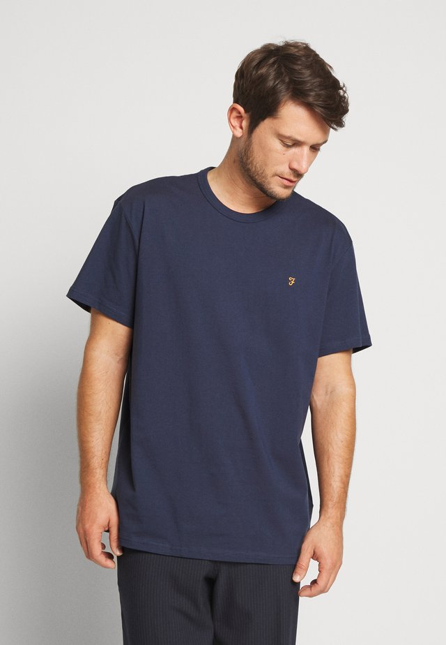 COLLIER REGULAR FIT TEE - T-shirt basic - yale
