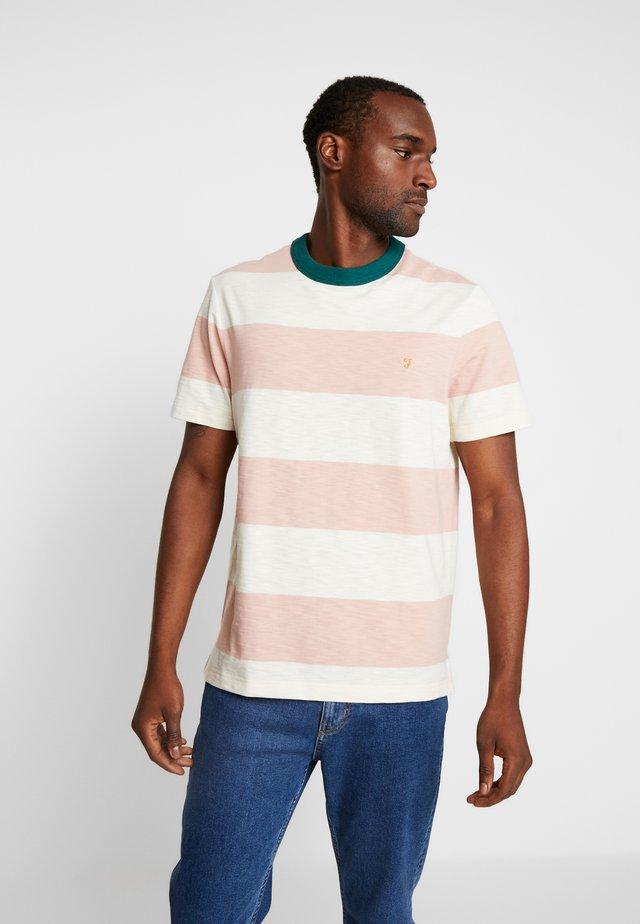 WATSON TEE - T-shirt med print - blush