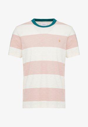 WATSON TEE - Camiseta estampada - blush