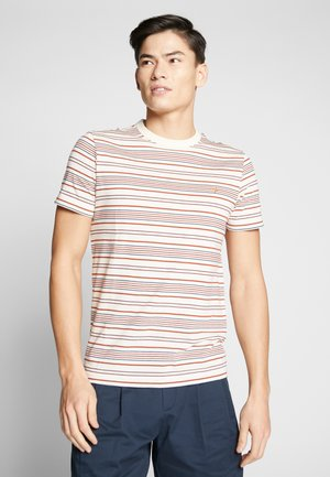 ROSEDALE TEE - T-shirt z nadrukiem - cream
