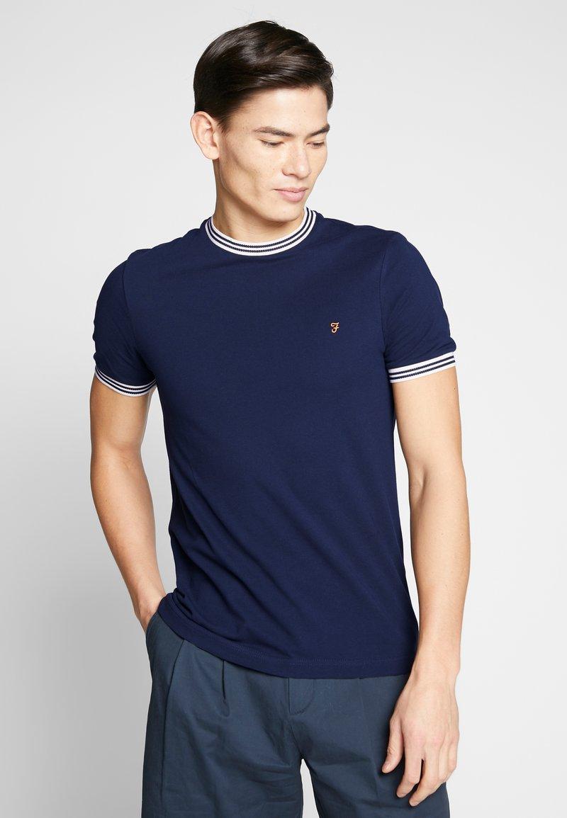 Farah - TEXAS TEE - T-shirt basic - true navy