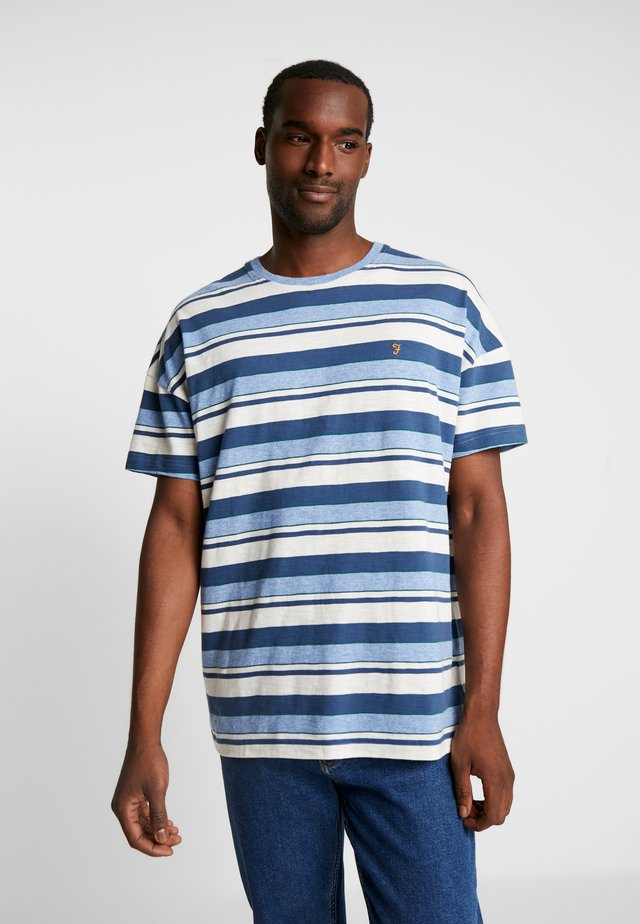 WIGNALL TEE - T-shirt con stampa - boy blue marl