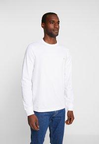 Farah - WORTH TEE - Long sleeved top - white - 0