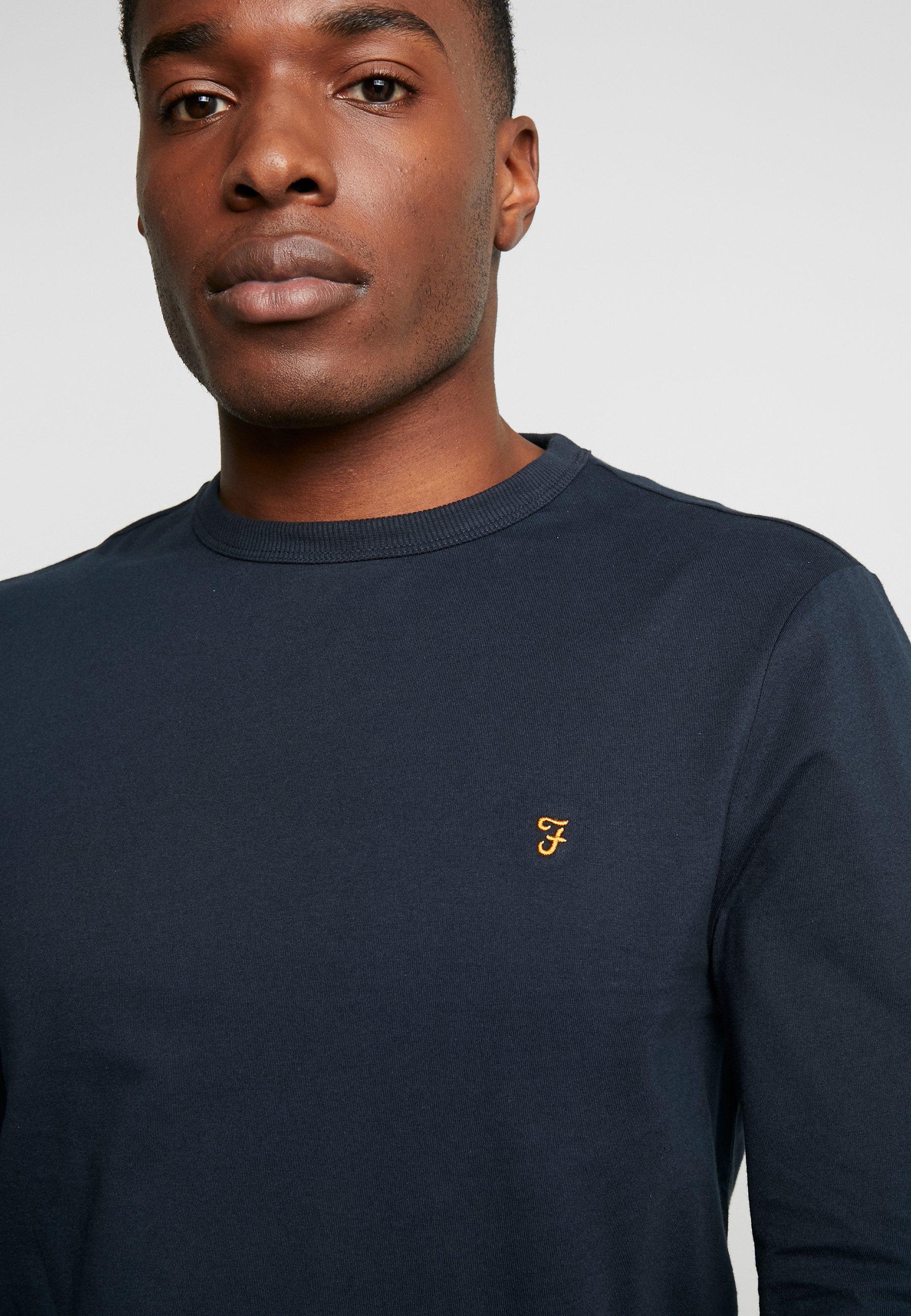 Farah WORTH TEE - Camiseta de manga larga true navy