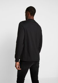 Farah - WORTH TEE - Bluzka z długim rękawem - deep black - 2