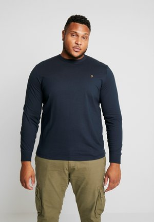 PLUS WORTH TEE - Long sleeved top - true navy