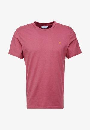 DENNIS SOLID TEE - T-shirt basic - azalea