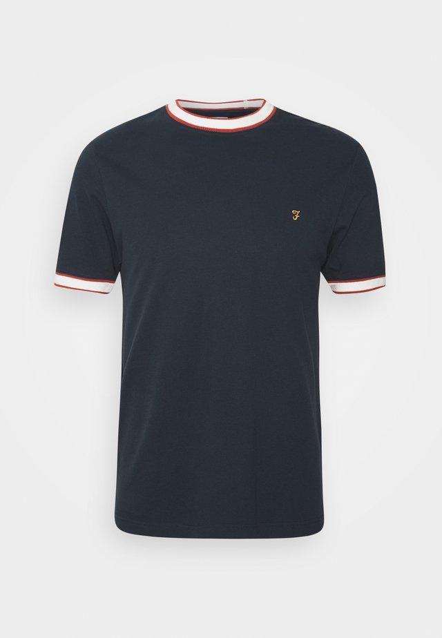BIRMINGHAM TEE - T-shirt basic - true navy