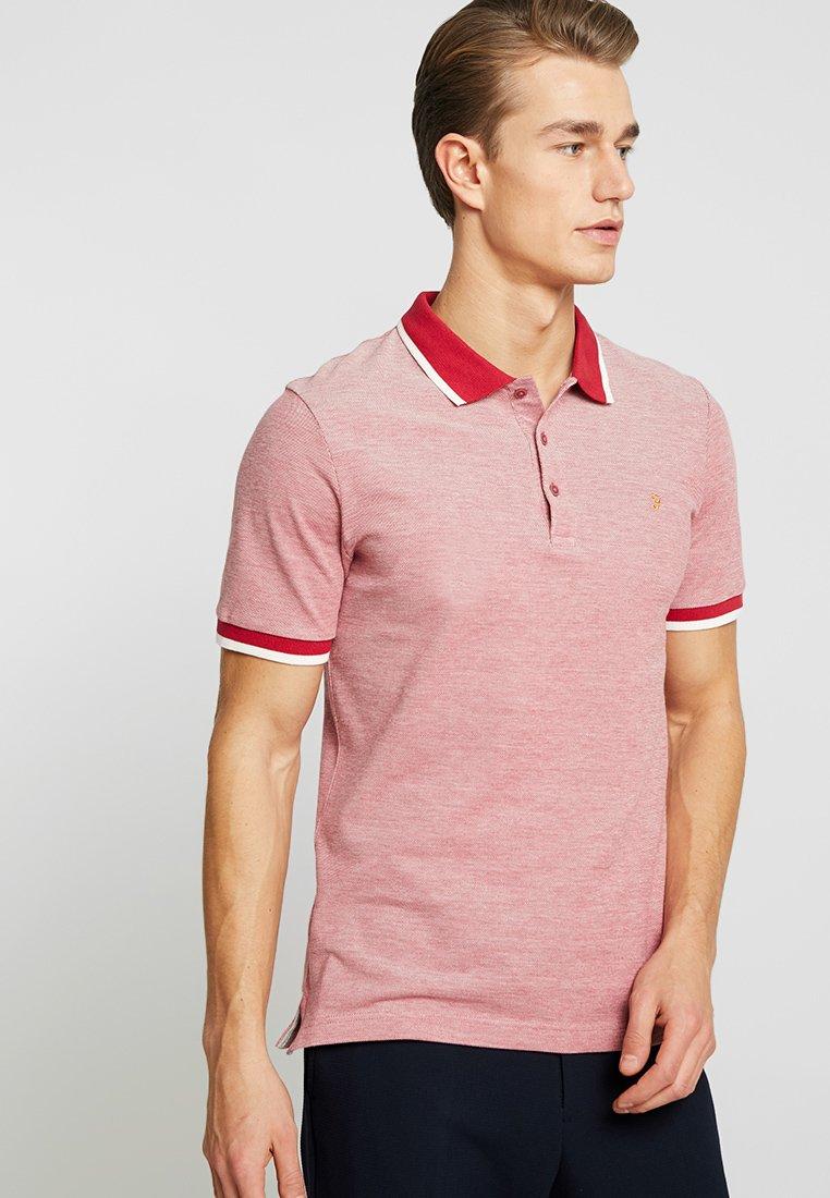 Farah - BASEL - Polo shirt - fire brick