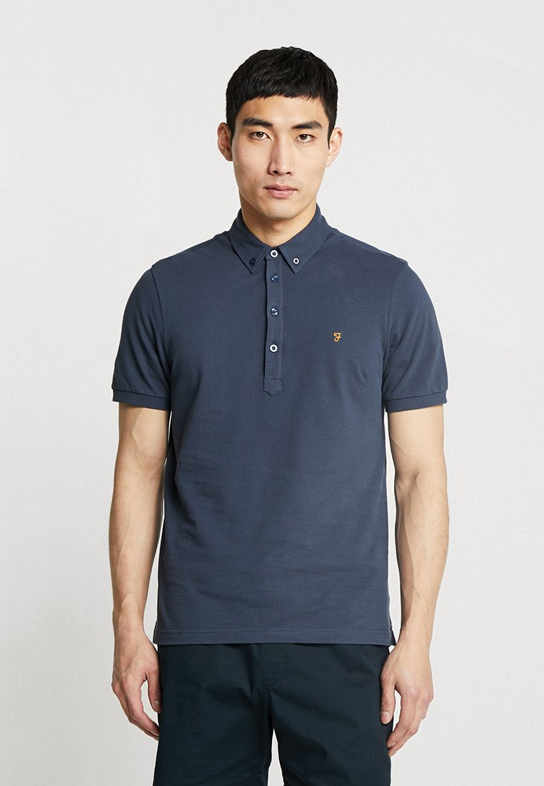Farah - MERRIWEATHER SOLID - Polo shirt - navy