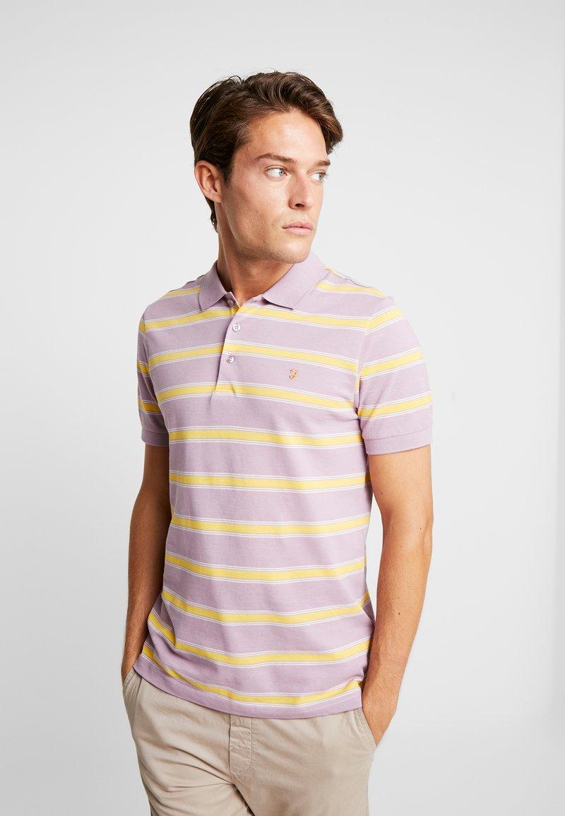 Farah - SEFTON STRIPE  - Polo shirt - iris