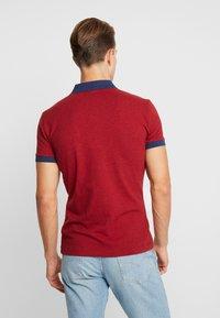 Farah - ENFIELD - Poloshirt - currant marl - 2