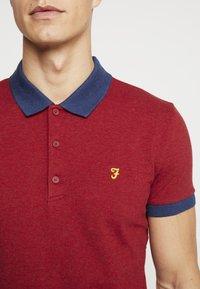 Farah - ENFIELD - Poloshirt - currant marl - 4