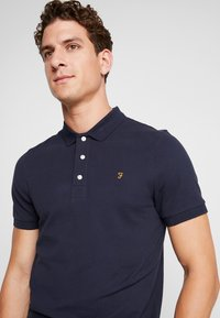 Farah - BLANES  - Poloshirt - true navy - 4