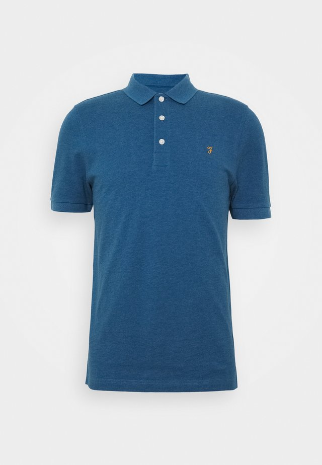 BLANES  - Koszulka polo - blue grape marl
