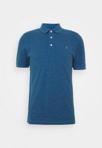 Farah - BLANES  - Koszulka polo - blue grape marl - 3
