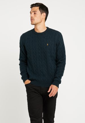 COBBY CABLE CREW - Maglione - deep olive