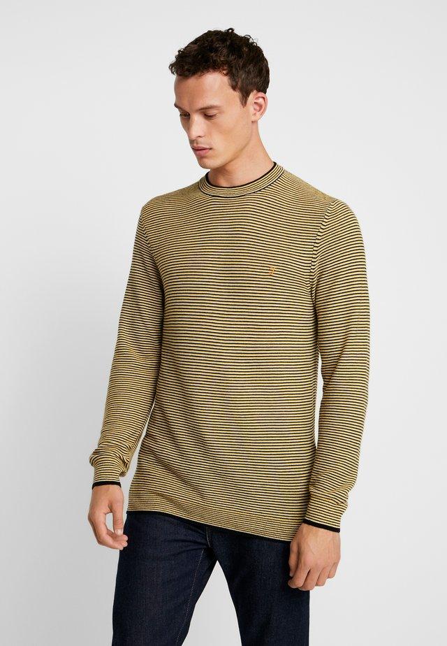 BAILEY CREW NECK - Stickad tröja - talbot yellow