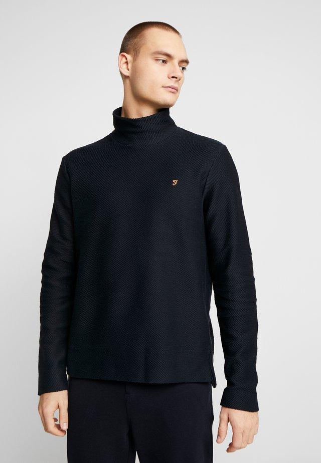 AVONDALE - Sweter - deep black