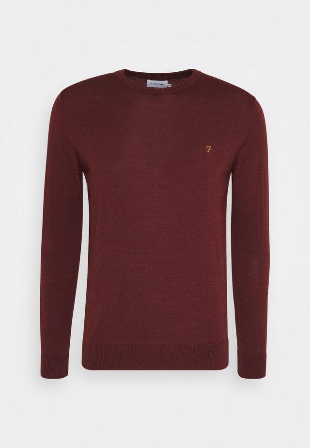 MULLEN CREW - Pullover - farah burgungy
